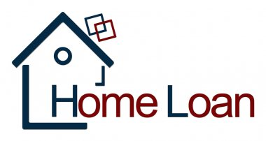 Home Loan Blue Red