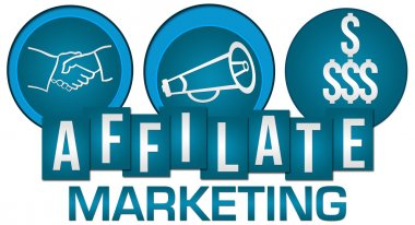 Affiliate Marketing Three Circles Stripes