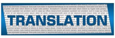 Translation Blue Block