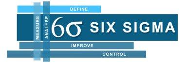 Six Sigma Blue Stripes Horizontal