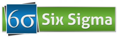 Six Sigma Green Blue Button Style