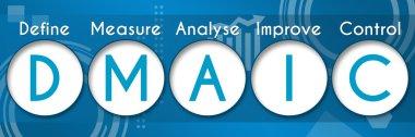 DMAIC Business Theme Circles