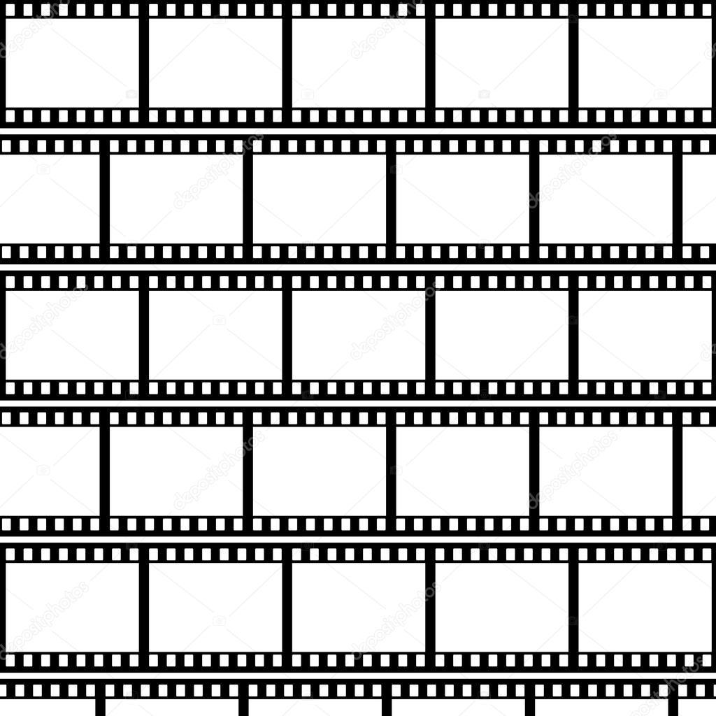 Film Strip Background Vector Illustration Stock Vector
