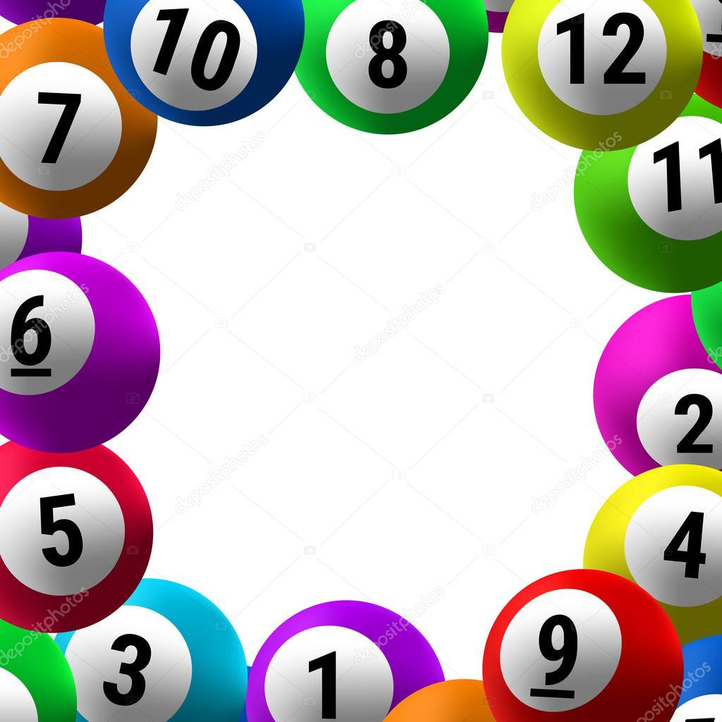 moldura de bolas de bingo vetor de stock evgeniybelyaev 101079474. Black Bedroom Furniture Sets. Home Design Ideas