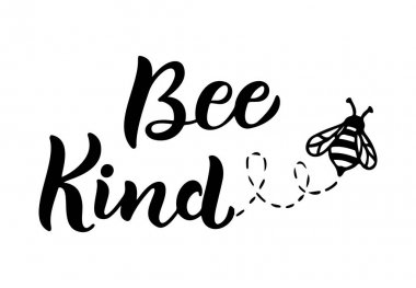 Bee Kind Free Vector Eps Cdr Ai Svg Vector Illustration Graphic Art