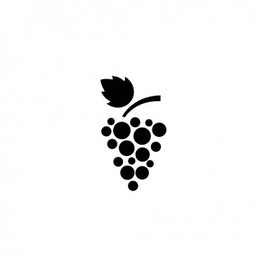 Grapes icon vector isolated illustration icon