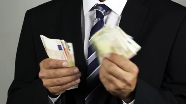 Euro banknotes, corruption