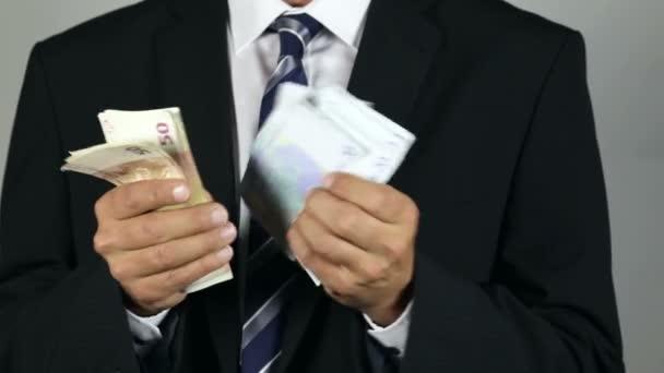 Euro banknotes, corruption, banana republic