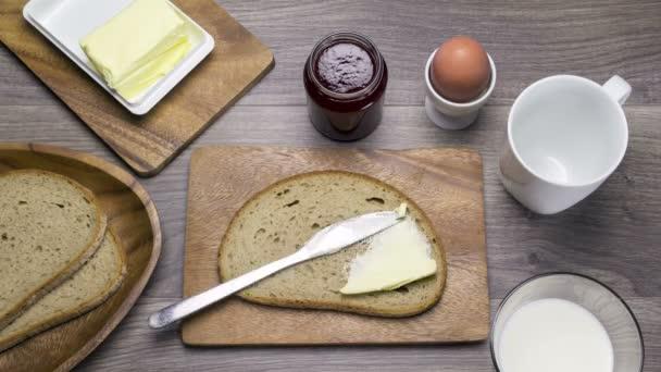 Stopmotion snídaně