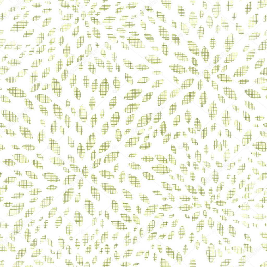 vector green leaves explosion textile seamless texture pattern background