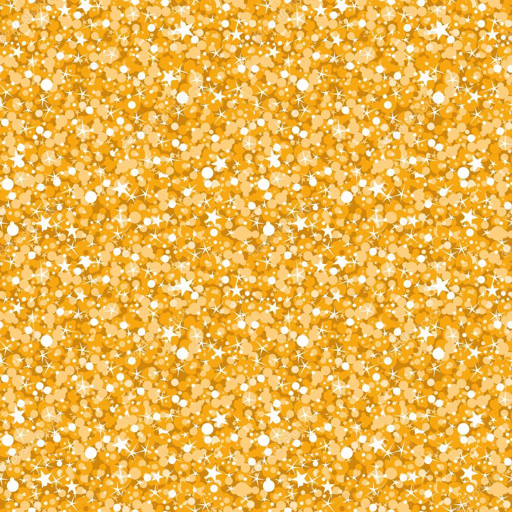 vector golden shiny glitter texture seamless pattern background