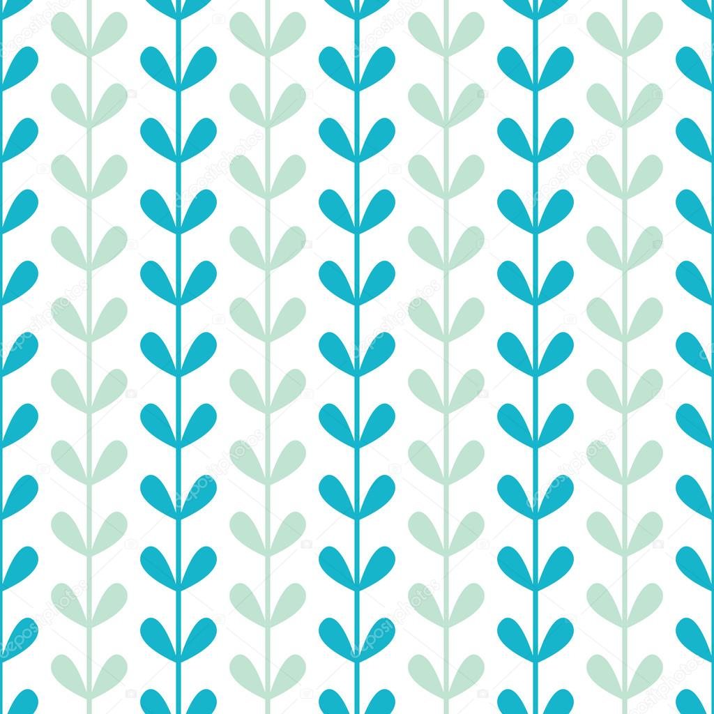 Abstract vines leaves seamless pattern background