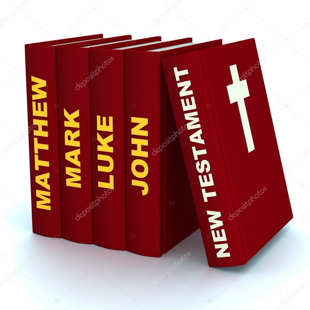 Libros del nuevo testamento — Fotos de Stock © vicza #83275894