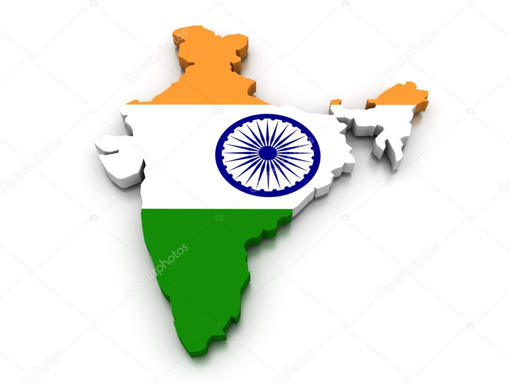 India Map Flag.India Flag Map Stock Photo C Vicza 91776372