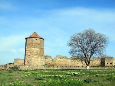 Ancient Akkerman fortress at Belgorod-Dnestrovsk y, near Odessa Ukraine
