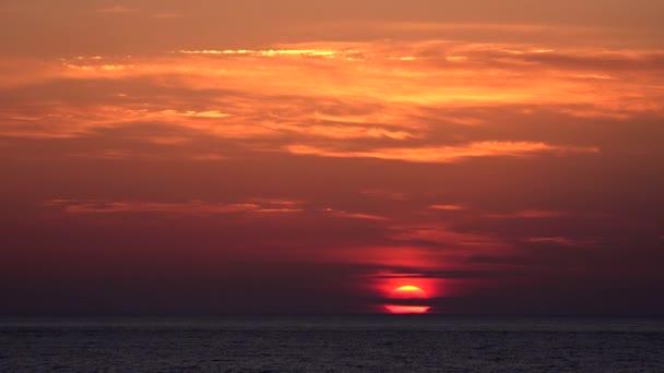 Dramatický západ slunce na obloze, Sea Beach, Východ slunce na pobřeží, Oceán při západu slunce, Cestování v létě Dovolená výlet