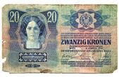 Historická papírové peníze od Rakouska-Uherska