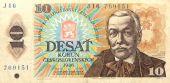 Historická papírové peníze z Československa