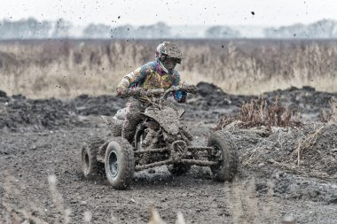 Motocross compertitions in Russia.