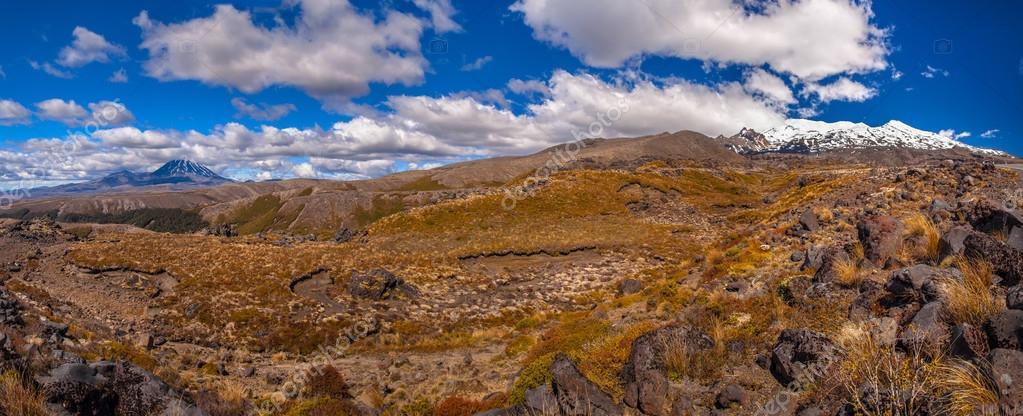 Panorama of Tongariro