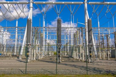 Brand new high voltage Power substation