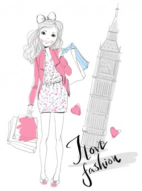 Fashion Girl travels world