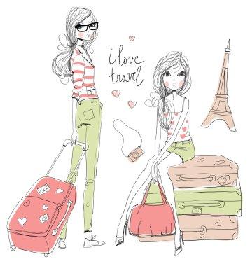 Fashion Girls travels world