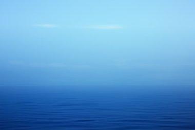 Artistic blue seascape