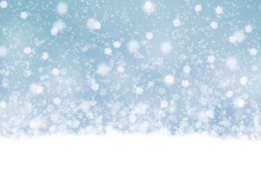 Güzel kar yağışı arka plan