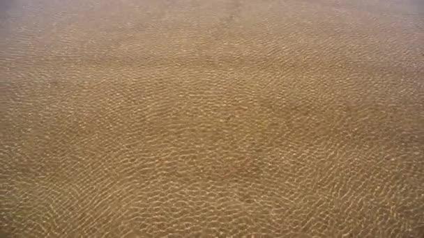 Abstraktní vlny mořské vody zpomalené