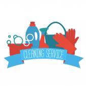 Lapos design logo takarítás