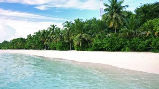 trópusi sziget homokos strand