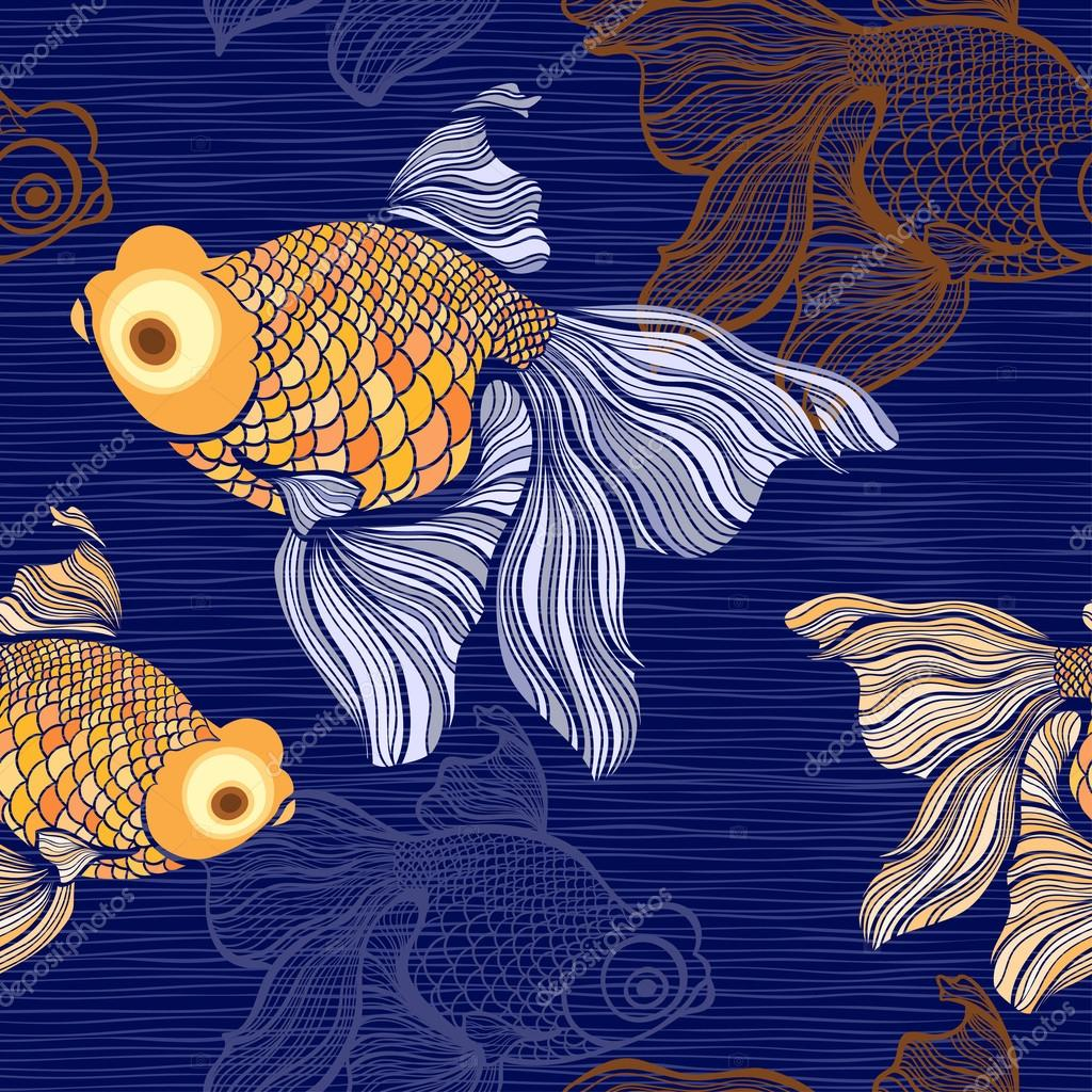 breathing patterns of a goldfish
