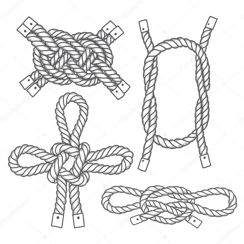 Royalty Free Tied Knot Clip Art, Vector Images ...