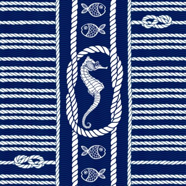 Pattern with marine rope