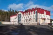 Sport hotel komplexní Aist na hoře dlouho v Nižním Tagilu. Rusko