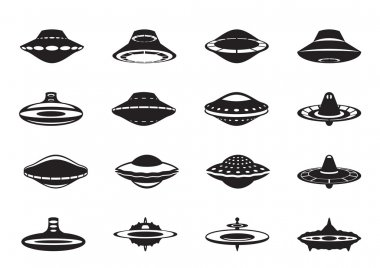 Different flying saucers