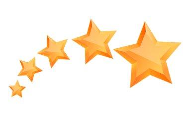 Five 3d gold stars premium. The best reward