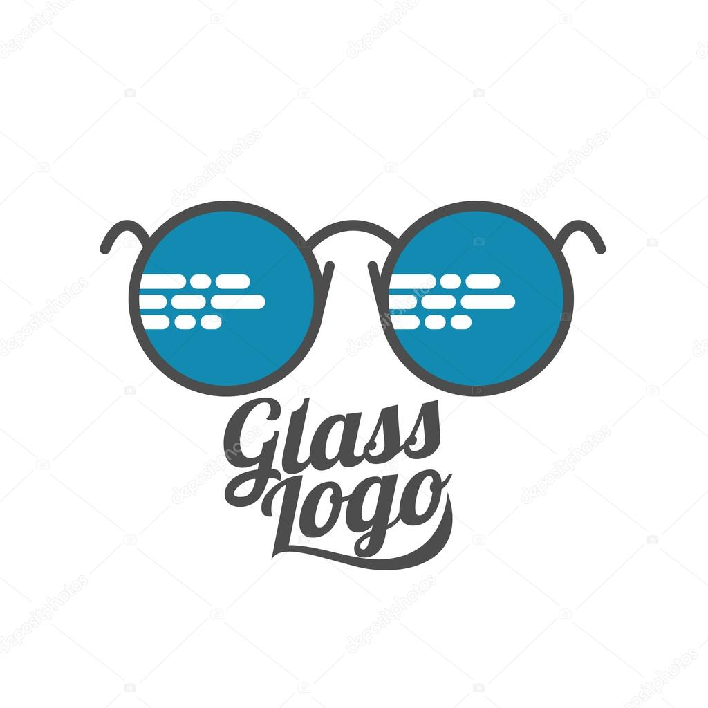 e947a963b22 Retro and modern style glasses logo set — Stock Vector © Sabelskaya ...