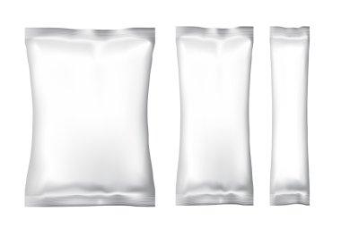 Blank Foil Food Snack