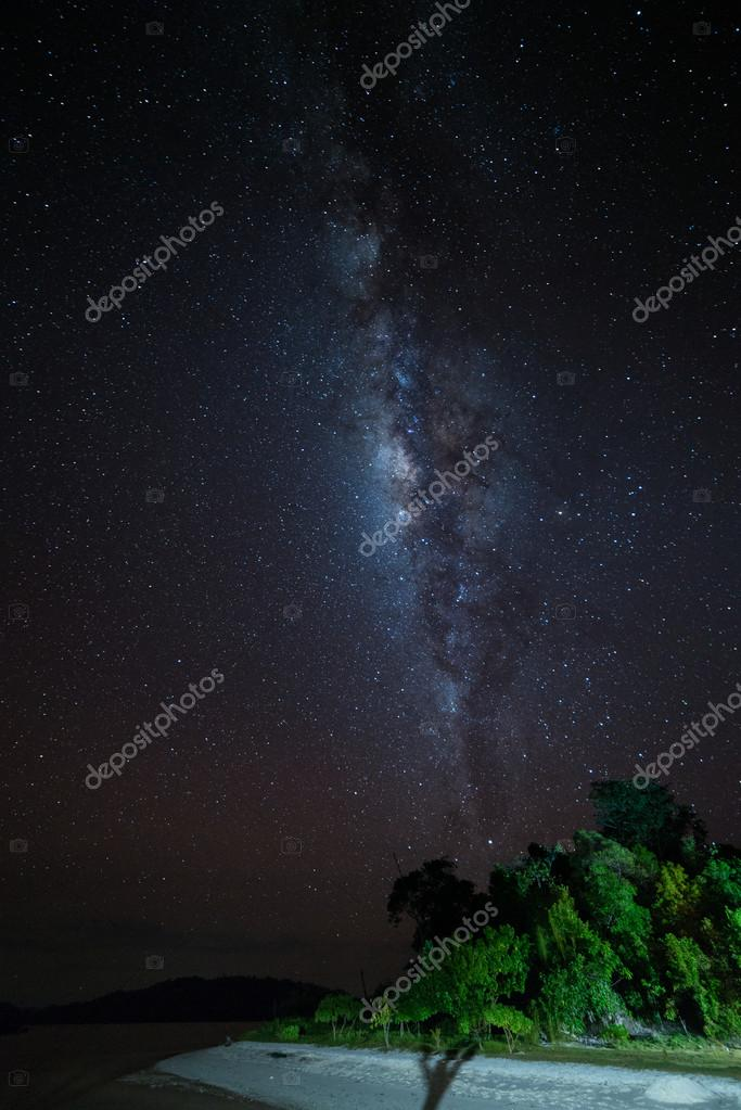The Milky Way from the Togian Islands