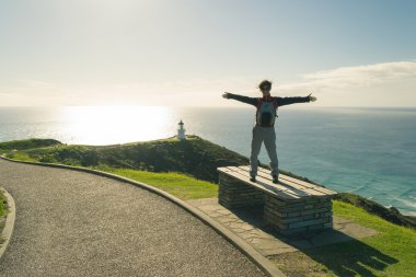 Discovering Cape Reinga in winter