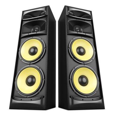 Sound speakers boxes