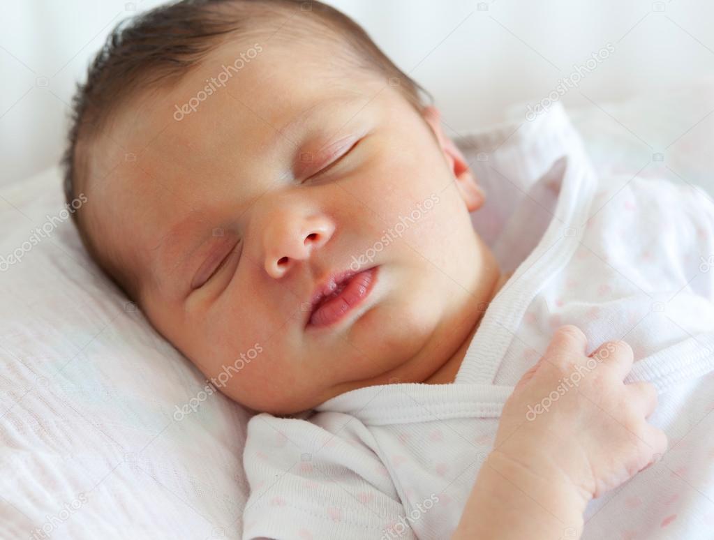 cute baby sleeping — stock photo © antoniogravante #124295832