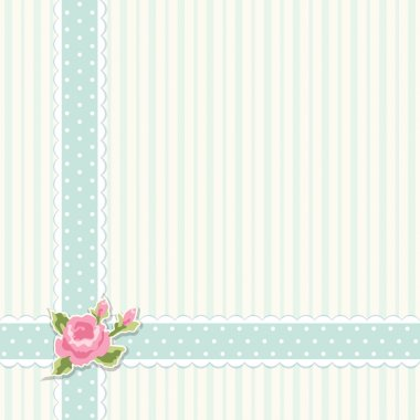 Classic vintage shabby chic background