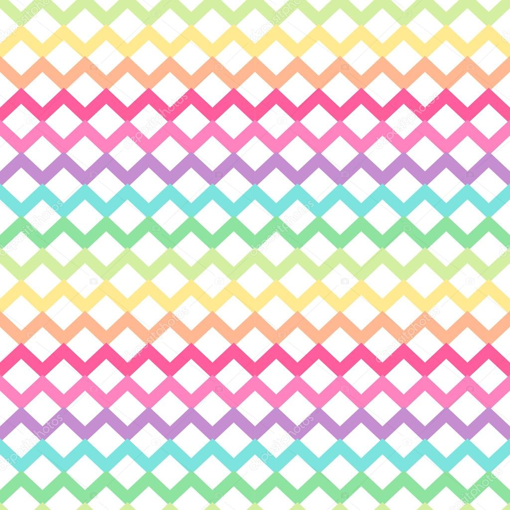 Cute Retro Chevron Seamless Pattern Stock Vector
