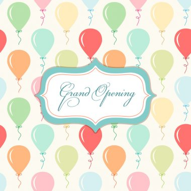 Grand Opening card