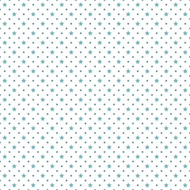 Stars and polka dots background