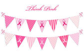 Pink bunting Breast Cancer Awareness