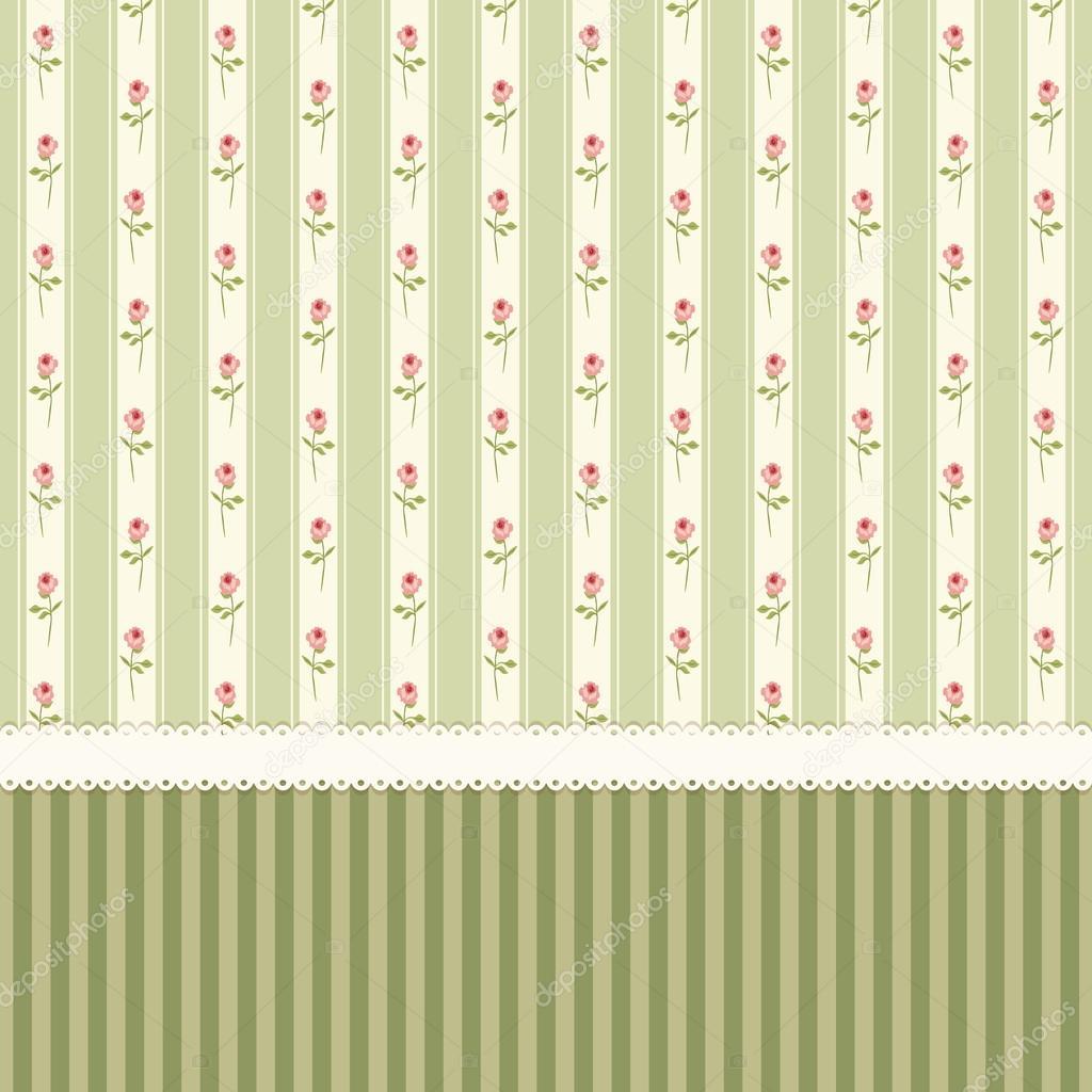 vintage tapete shabby chic rosen stockvektor ishkrabal 84725418. Black Bedroom Furniture Sets. Home Design Ideas